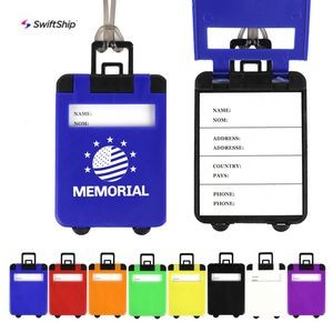 Suitcase Shaped Luggage Tags
