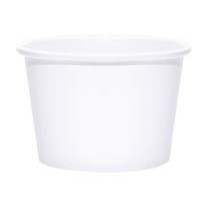 Blank 8oz. Paper Food Container