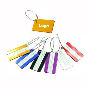 Aluminum Travel Suitcase Luggage Tags