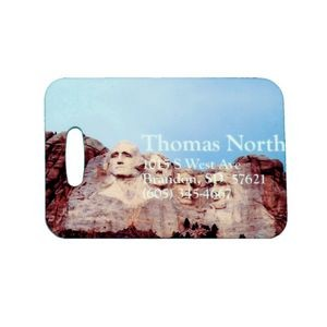 2.75 x 4 inch Full Color Luggage Tag