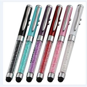 Ballpoint Pen Stylus with led light